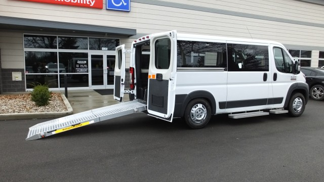 2017 Ram Promaster Cargo Van  Wheelchair Van For Sale