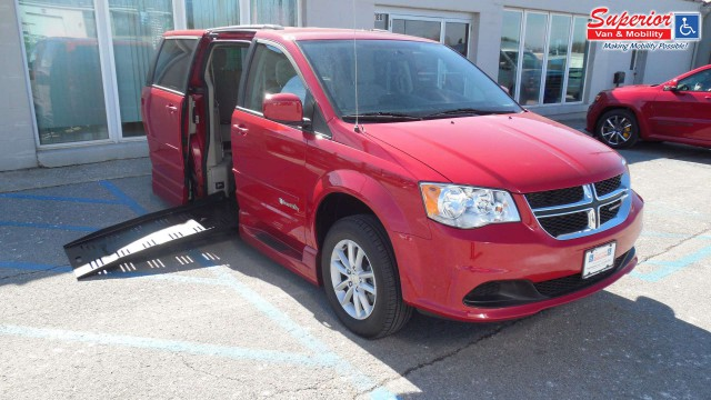 2015 Dodge Caravan  Wheelchair Van For Sale