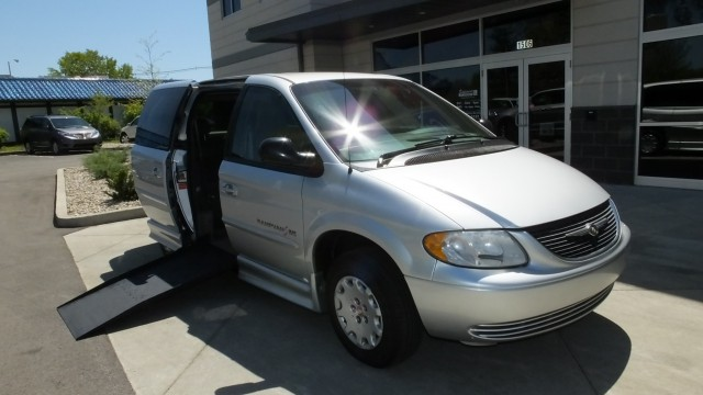 2002 Chrysler Town and Country  Wheelchair Van For Sale